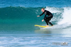 Surf-Unterricht auf Fuerte