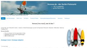 Nonose.de - der Windsurf-Gebrauchtmarkt