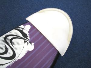 Flugtauglichkeits-Kit für Boardbags: Der Board Protector für Bug und Heck