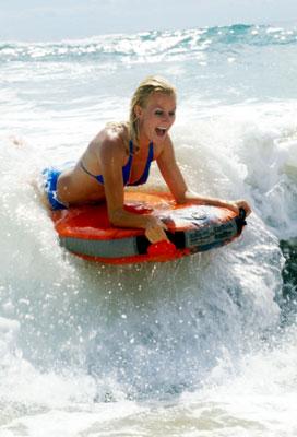 Bodyboarding mit dem BUGZ Surfster