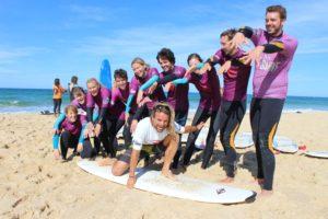 Schule, die Spaß macht: Surfkurs bei Studisurf