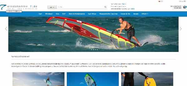 Surfshop Windstärke 7