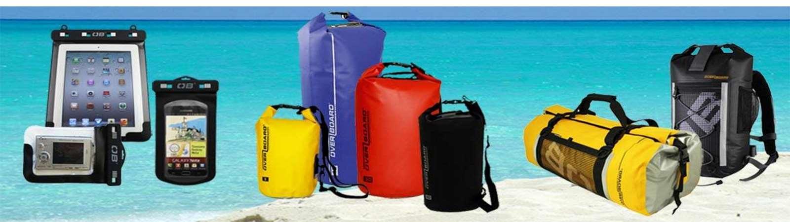 Wasserdichte Taschen von Overboard
